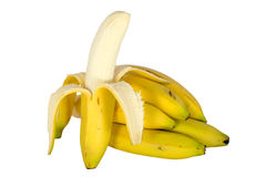 skalad banan Royaltyfria Foton