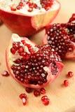 Skalad granatäpple Royaltyfria Bilder