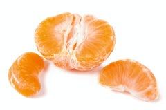 skalad isolerad mandarin Royaltyfria Bilder