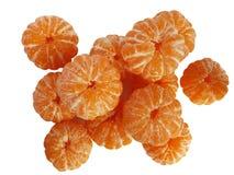 skalad mandarin Royaltyfria Bilder