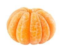 Skalad tangerine arkivfoton