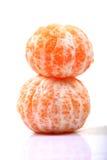skalade apelsiner Royaltyfria Bilder