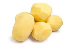 skalade potatisar Fotografering för Bildbyråer