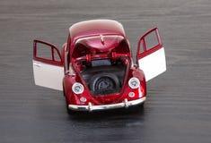 Skalaleksakmodell VW Volkswagen Beetle Royaltyfri Fotografi