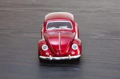 Skalaleksakmodell VW Volkswagen Beetle Royaltyfri Bild