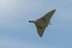 Skalamodell Vulcan Bomber Arkivfoton