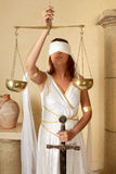 skalar kvinnazodiac Royaltyfri Fotografi