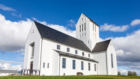 Skalholt Cathedral Royalty Free Stock Photos