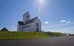Skalholt Cathedral Royalty Free Stock Photography