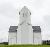 SKALHOLT, ISLANDE - 25 JUILLET : La cathédrale moderne de Skalholt a été accomplie en 1963, est décrite le 25 juillet 2016 et est Photo stock