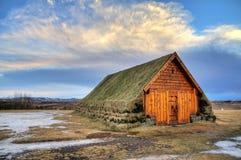 Skalholt turf Iceland Royalty Free Stock Photography