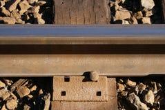 Skaliści góra pociągu ślada obraz stock