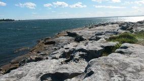 skaliści brzegu Zdjęcia Royalty Free