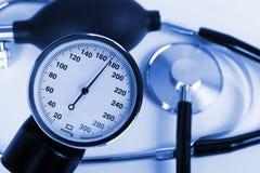 skali ciśnieniowych stetoskop Obraz Royalty Free