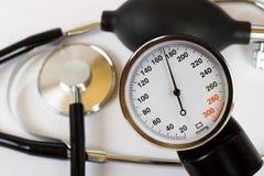skali ciśnieniowych stetoskop Fotografia Stock