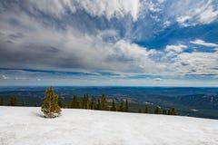 Skaliści widoki górscy Obrazy Royalty Free