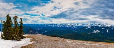 Skaliści widoki górscy Obraz Royalty Free