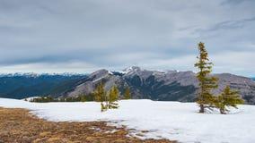 Skaliści widoki górscy Fotografia Stock