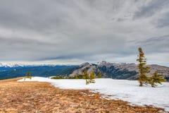 Skaliści widoki górscy Zdjęcie Stock