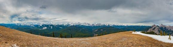 Skaliści widoki górscy Zdjęcia Stock