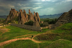 Skali de Belogradchishki, Bulgarie 2 Photos stock