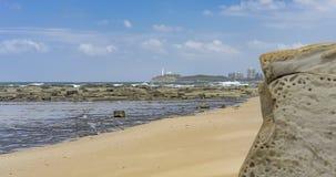 Skalista Australijska nabrzeżne panorama Obrazy Royalty Free