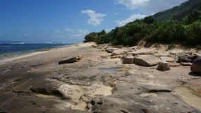 Skalista Bali plaża Fotografia Royalty Free