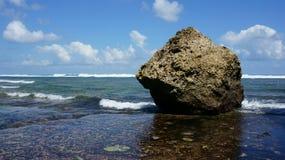 Skalista Bali plaża Obraz Stock