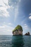 Skalista formacja na Phuket fotografia stock