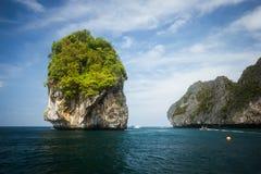 Skalista formacja na Phuket obrazy royalty free