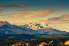 Skalista góra, Banff park narodowy zdjęcia stock