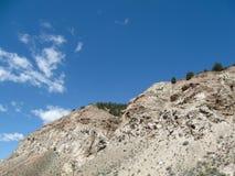 Skalista góra Cliffside Fotografia Royalty Free