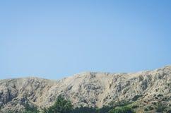 Skalista góra i niebo Obraz Stock
