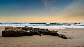 Skalista linia brzegowa San Diego Fotografia Stock