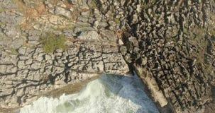 Skalista plaża Boca De Jatka zbiory