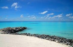 Skalista plaża zdjęcie royalty free
