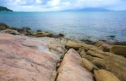 Skalista plaża w Koh Samui, Tajlandia Zdjęcie Royalty Free