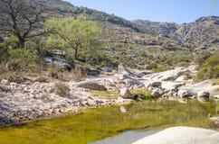 Skalista rzeka Zdjęcia Stock