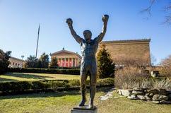 Skalista statua w Filadelfia, Zdjęcia Stock