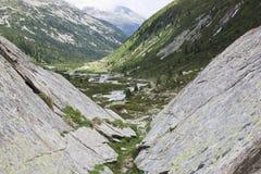 Skaliste góry w Tyroler Ziller dolinie, Austria Obrazy Stock