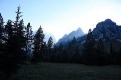 Skaliste góry, Wyoming Zdjęcie Stock