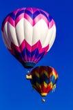 Skalistej góry gorącego powietrza balonu festiwal Obrazy Royalty Free