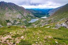 Skalistej góry krajobraz mt Evans Colorado Zdjęcia Stock