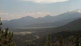 Skalistej góry park narodowy Fotografia Royalty Free