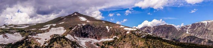 Skalistej góry park narodowy Halni szczyty Skaliste góry zdjęcie royalty free