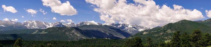 Skalistej góry park narodowy Obłoczni halni szczyty obrazy royalty free