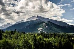 Skalistej góry parka narodowego Estes park, Kolorado Obrazy Stock