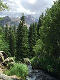 Skalistej góry parka narodowego lato 2015 Zdjęcie Royalty Free