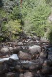 Skalistej góry strumień Obrazy Royalty Free