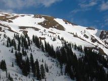 Skalistej góry twarz Fotografia Royalty Free